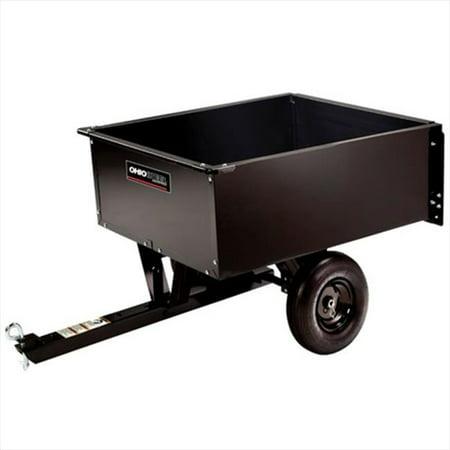 Ohio Steel Industries 2638Hkd 9 Cu  Ft  Opp Steel Dump Cart  44  350 Lb