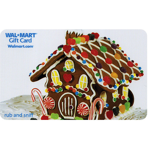 Gingerbread House Gift Card (scratch and sniff)