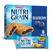Kellogg's Nutri-Grain Soft Baked Breakfast Bars, Blueberry, 10.4 Oz, 8 Ct