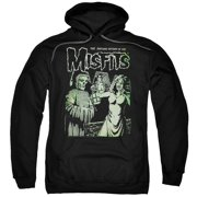 Misfits The Return Mens Pullover Hoodie Black