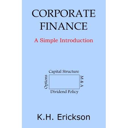 Corporate Finance: A Simple Introduction - eBook