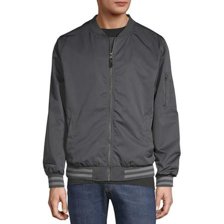 No Boundaries Men's and Big Men's Bomber Jacket (The Best Jacket Brands)