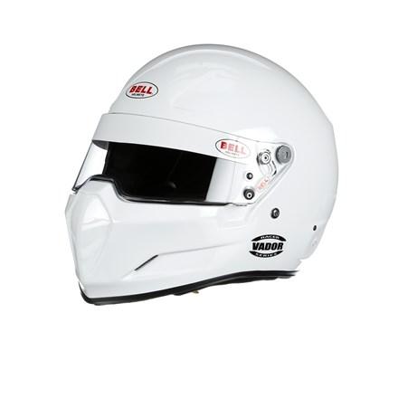 Bell Helmets Small White Racer Series Vador Helmet P/N 21...