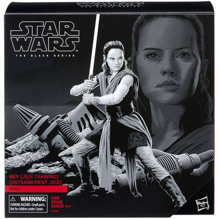 Star Wars Black Series Rey on Crait Action Figure [Jedi Training ]