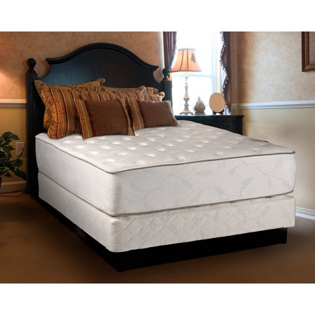 exceptional plush full size 54 x75 x12 mattress set bed frame included fully assembled. Black Bedroom Furniture Sets. Home Design Ideas