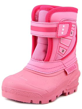 Tundra Oregon Toddler  Round Toe Synthetic Pink Snow Boot
