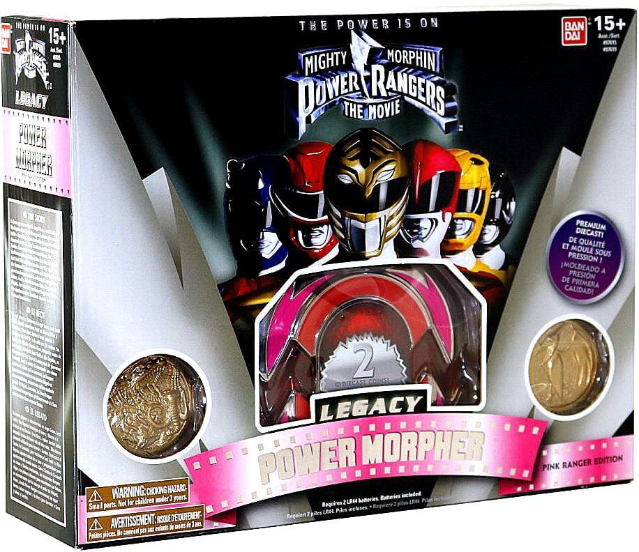 Power Rangers Legacy Series Pink Ranger Morpher by Power Rangers