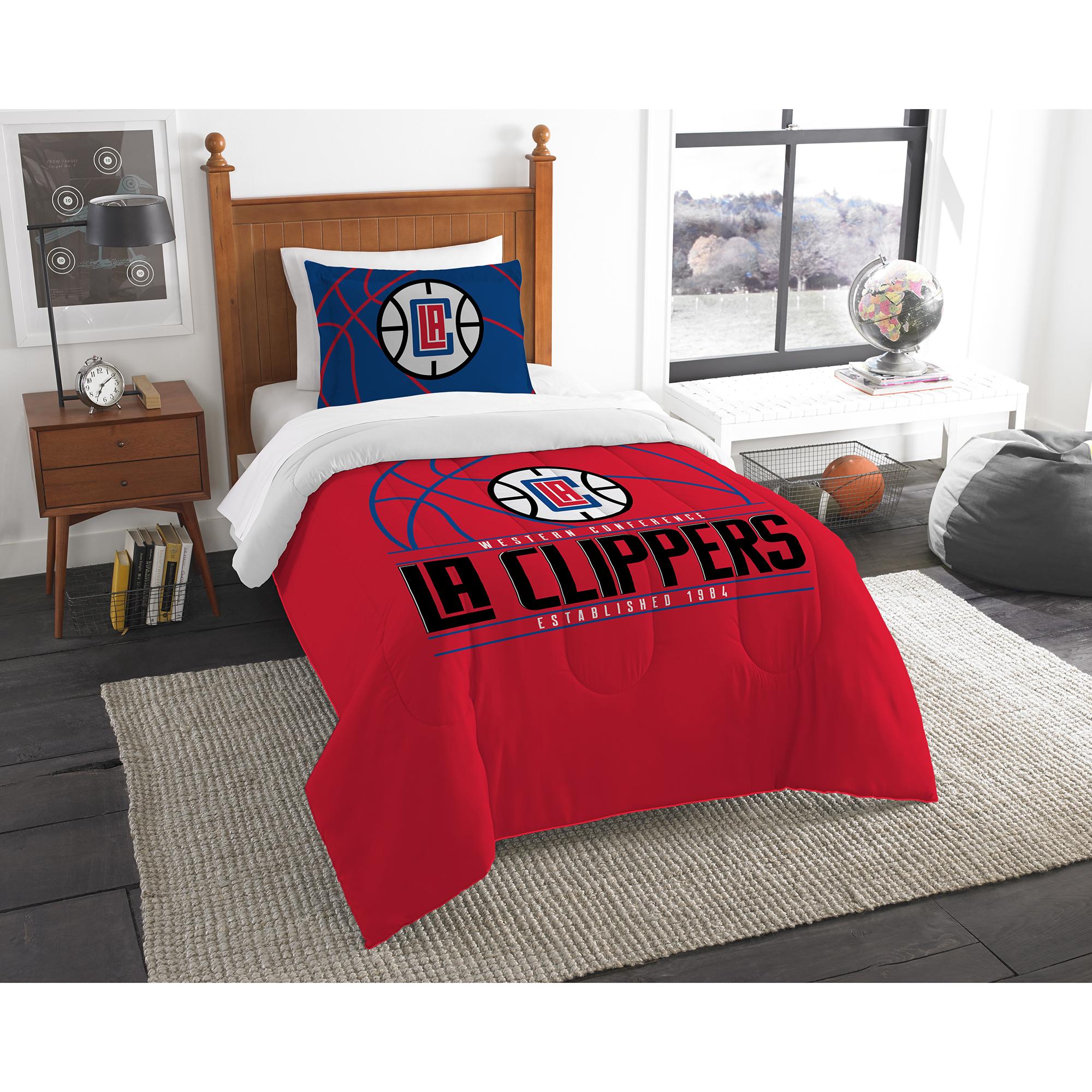 LA Clippers The Northwest Company Reverse Slam Twin Comforter Set - No Size