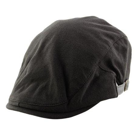 f26ca1d50779d0 Men Women Vintage Style Newsboy Duckbill Ivy Cap Driving Beret Hat Dark  Gray - image 1 ...