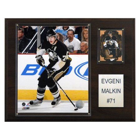 C&I Collectables NHL 12x15 Evgeni Malkin Pittsburgh Penguins Player Plaque