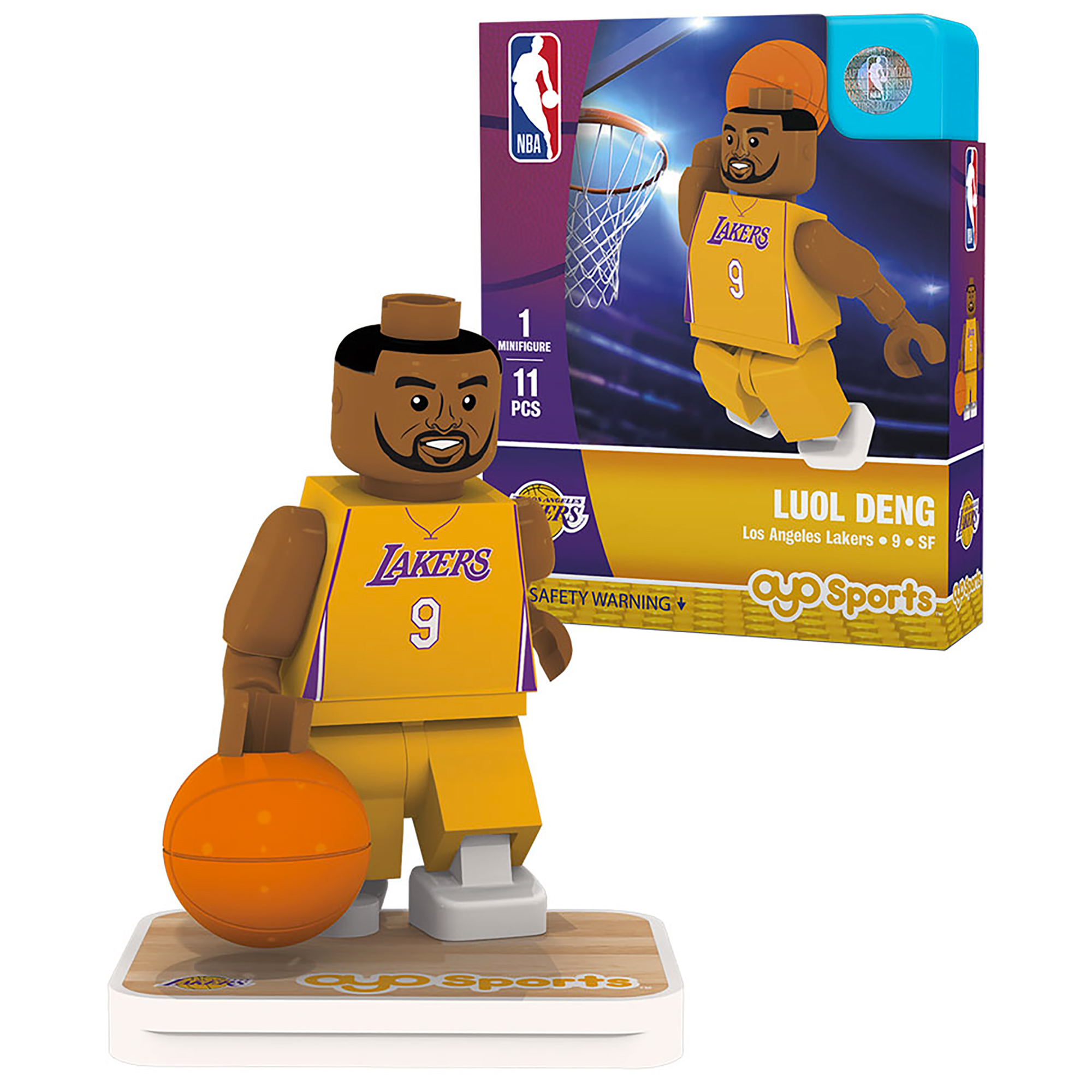 Luol Deng Los Angeles Lakers OYO Sports Player Minifigure - No Size