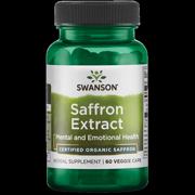 100 Percent Pure Non Gmo Saffron Extract 60 Capsules Walmart