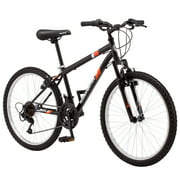 "Roadmaster 24"" Granite Peak Boys Mountain Bike, Black"
