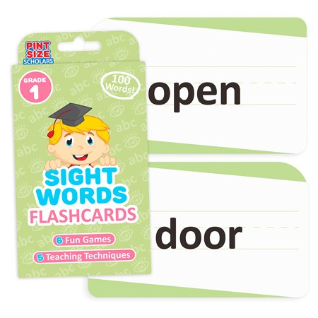 Sight Words Flashcards, First Grade (First Grade Addition Flash Cards)