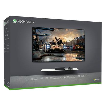 Microsoft Xbox One X 1TB Console, Black, CYV-00001