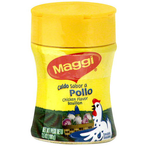 Maggi Chicken Flavored Bouillon, 3.5 oz (Pack of 12)