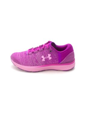b740a1e15bf9 Kids Under Armour Girls Grade School Charged Bandit 3 Low Top Lace Up  Running.
