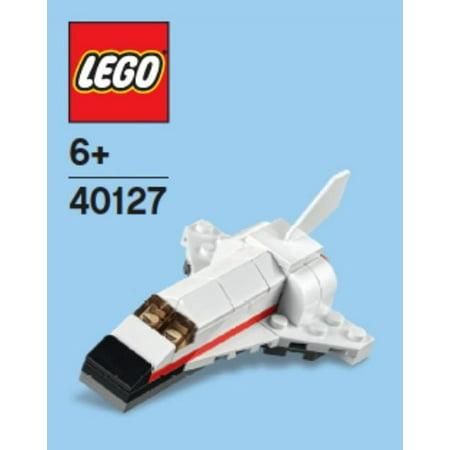 Lego Space Shuttle Mini Model Parts Instructions 40127 Walmart