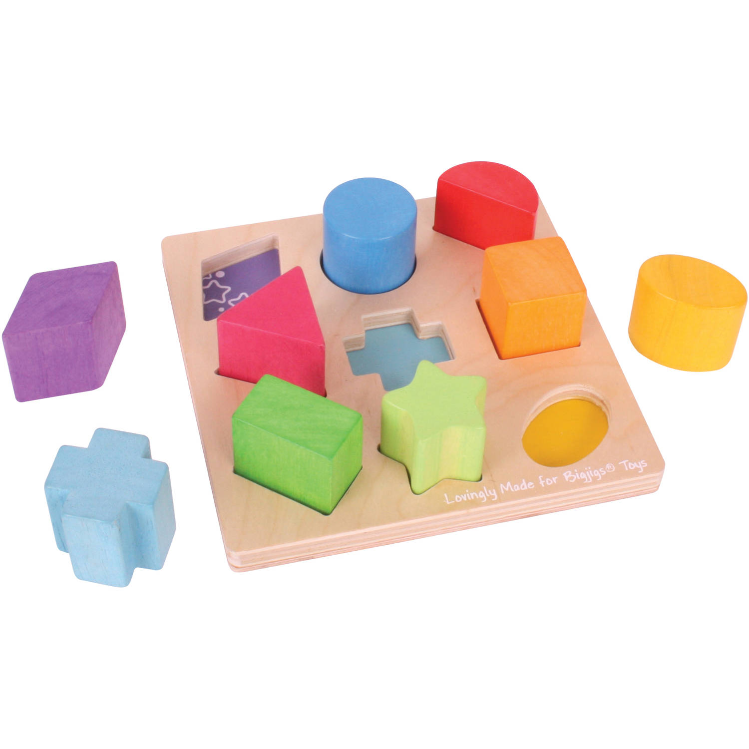 BigJigs Baby My First First Shapes Sorter