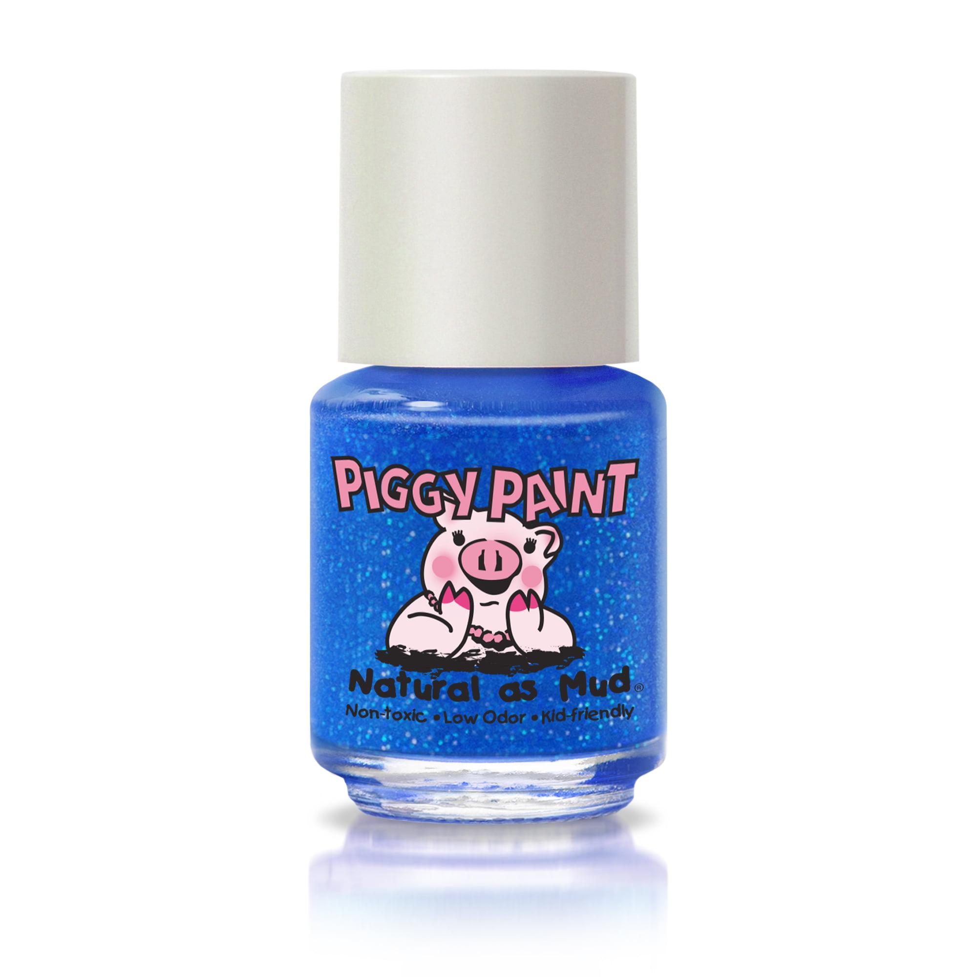 Piggy Paint Nail Polish, Brand Spank'N Blue, 0.25 fl oz