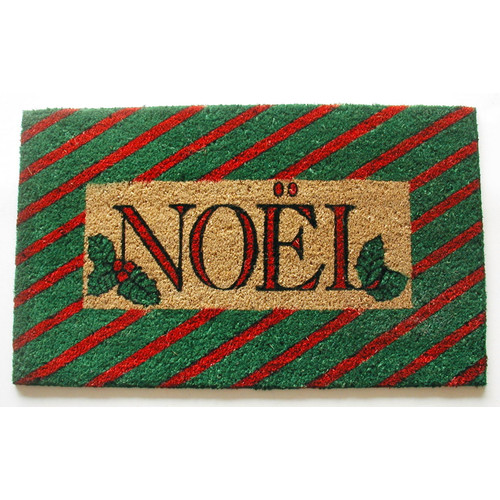 Geo Crafts, Inc Noel Doormat