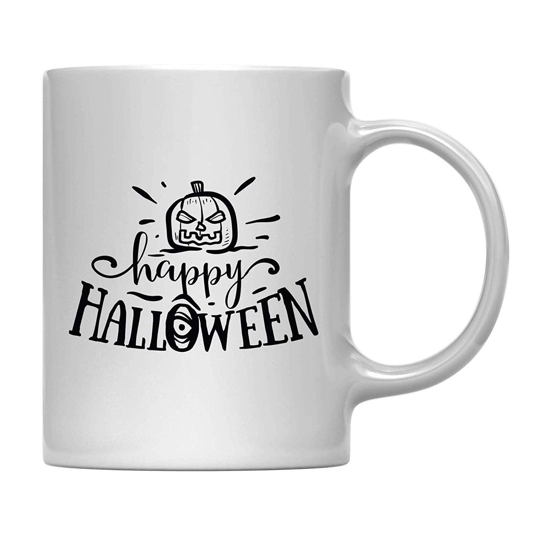Andaz Press 11oz Coffee Mug Gift Happy Halloween Halloween October Present Ideas With Gift Box Walmart Com Walmart Com