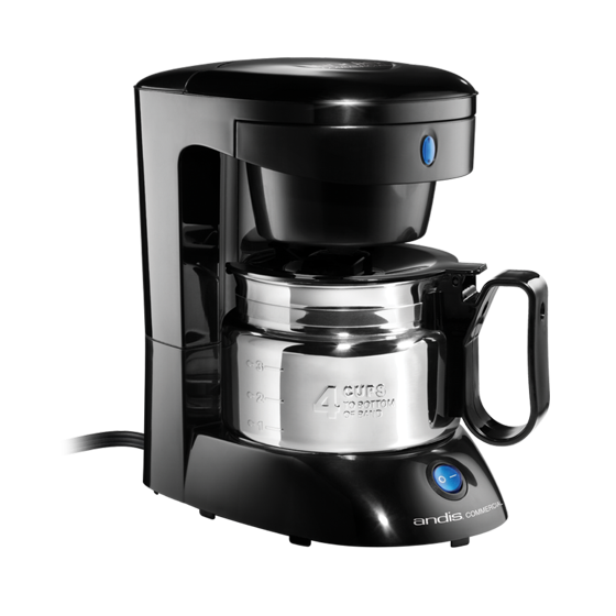 Andis 4 Cup Coffee Maker W Auto Shut Off Stainless Steel Carafe
