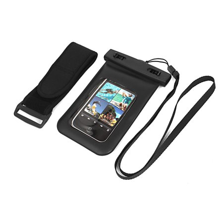 Waterproof Fishing Pouch Dry Bag Case for iPhone 4G w Armband - image 4 de 4