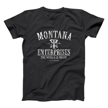 Tony Montana Enterprises Small Black Basic Men's - Tony Montana Halloween