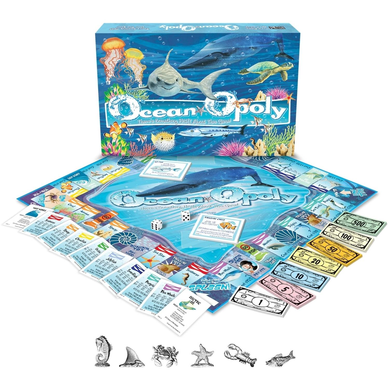 Oceanopoly Board Game by Late for the Sky