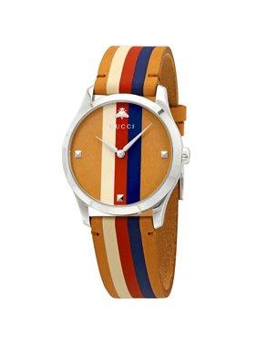 b31814b66de8 Product Image Gucci G-Timeless Men s Leather Watch YA1264078