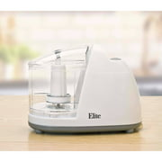 Elite Cuisine Mini Chopper 1.5 Cup, White