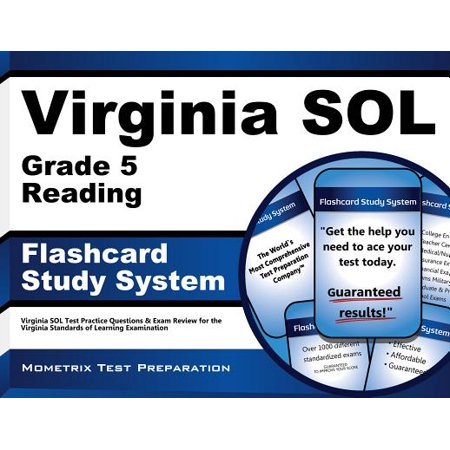 Virginia SOL Grade 5 Reading Flashcard Study System: Virginia SOL Test Practice Questions & Exam Review for the Virginia Standards of Learning Examination