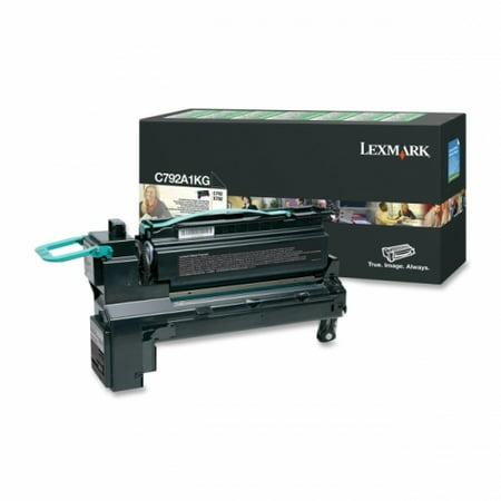 Lexmark C792A1KG Return Program Toner Cartridge - image 1 of 1