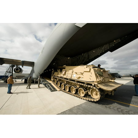 Canvas Print An M88A2 Heavy Equipment Recovery Combat Utility Lift and Evacuation System, also known as Hercules, Stretched Canvas 10 x (Evacuation System)