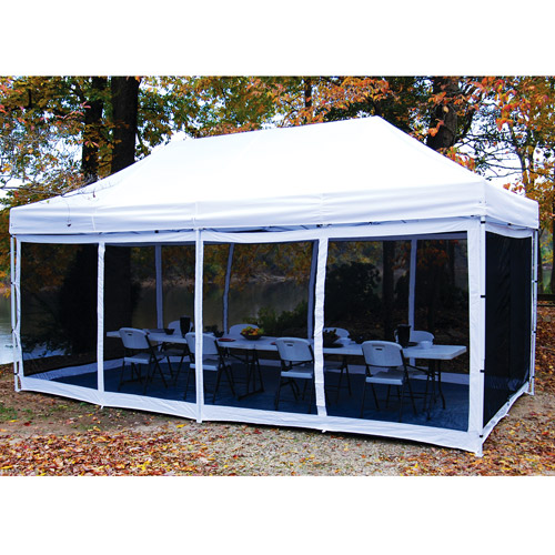 King Canopy EPA1PBS15WH Instant Canopy Bug Screen Room 1 Piece 10x15 With Floor  sc 1 st  Walmart & King Canopy EPA1PBS15WH Instant Canopy Bug Screen Room 1 Piece ...
