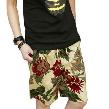 Men's Leisure Drawstring Waist Casual Shorts W30