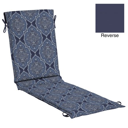 Better Homes & Gardens Blue Medallion Outdoor 78 x 22 in. Sling Chaise Cushion with EnviroGuard ()