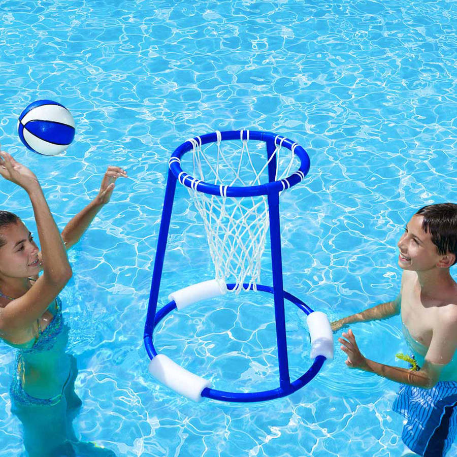 Poolmaster Pro Action Water Basketball Game for Swimming Pools