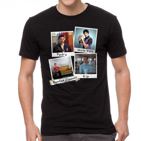 Napoleon Dynamite Photos Men's Black Funny T-shirt NEW Sizes S-2XL