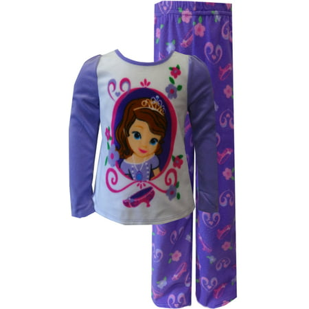 dfdc01d0b Sofia the First - Disney Sofia The First Purple Fleece Pajama Set ...