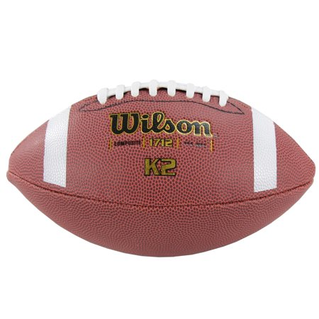 Wilson Pee-Wee Size Composite Leather Game Football Auburn Tigers Leather Football