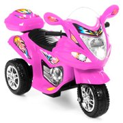 Best Choice Products Kids Ride On Motorcycle 6V Toy Battery Powered Electric 3 Wheel Power Bicycle by