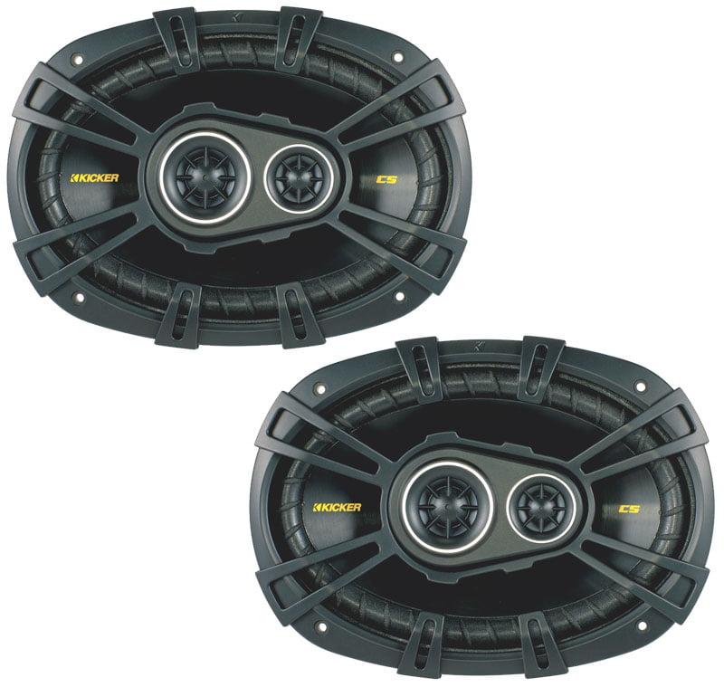 "Kicker 40CS6934 Car Audio Triaxial 6x9"" Speakers CS693"