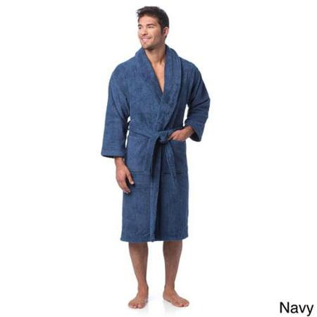 e52e6ecdcd Salbakos - ultra-thick turkish cotton shawl collar unisex bath robe -  Walmart.com