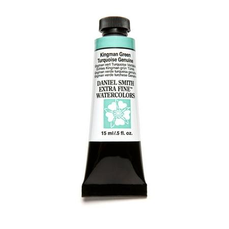 Kingman Green (Daniel Smith Extra Fine Watercolor, 15 ml, Kingman Green Turquoise)