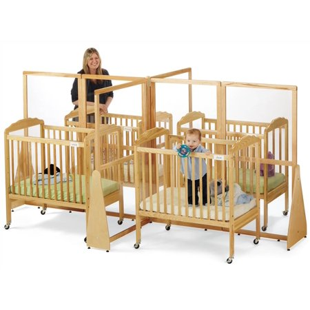 See-Thru Quad Crib Divider ()
