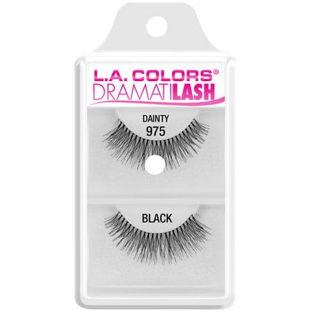 c94aec79e02 L.A. Colors Dramatilash Dainty False Eyelashes Black, 1 pair – BrickSeek