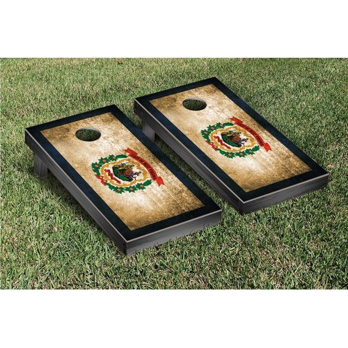 Victory Tailgate State Flag Cornhole Game Set by Victory Tailgate