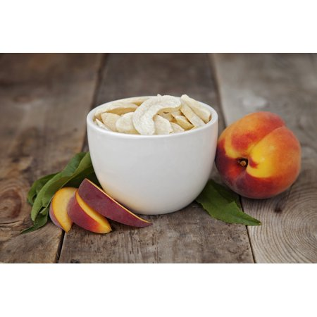 Valley Food Storage Freeze Dried Peach Slices Food Pouch